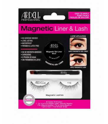 Ardell Kit Eyeliner Magnetic + Gene magnetice Lash110