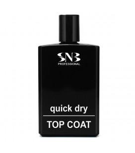 SNB Top cu uscare rapida Quick Dry pentru sigilarea lacului de unghii Refill 100 ml