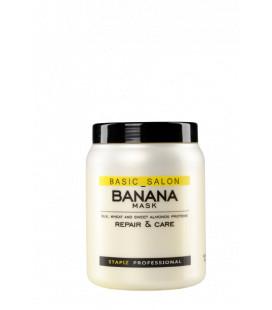 Stapiz Basic Salon Masca Banana pentru parul deteriorat