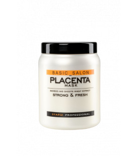 Stapiz Basic Salon Masca Placenta pentru par fragil