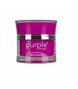 Purple Gel bifazic pentru constructie Milky White 15 gr