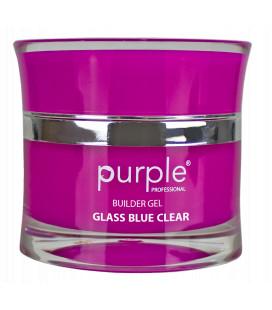 Purple Gel bifazic pentru constructie Glass Blue Clear