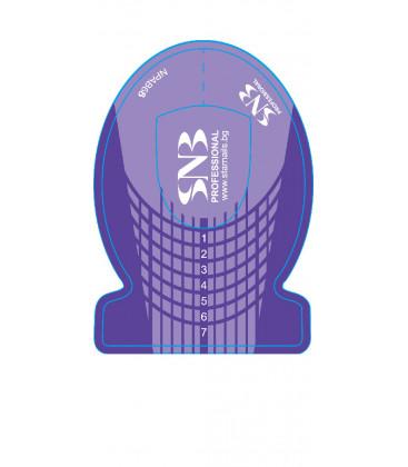 SNB Sabloane pentru constructie unghii cu gel sau acril