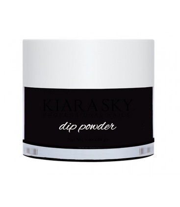 Kiara Sky Dip Powder – Pudra colorata Black to black