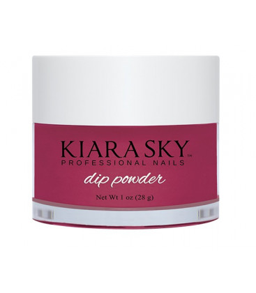 Kiara Sky Dip Powder – Pudra colorata Plum it up