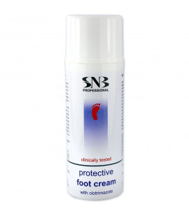 SNB Crema antifungica cu Clotrimazol pentru pedichiura