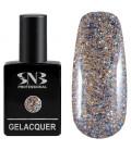 SNB Gelacquer  Lac semi-permanent 084 Glitter Auriu Colorat