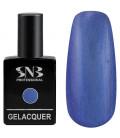 SNB Gelacquer  Lac semi-permanent 101 Albastru Metalizat