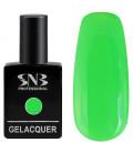 SNB Gelacquer  Lac semi-permanent 102 Verde Neon