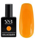 SNB Gelacquer Lac semi-permanent 104 Galben Portocaliu Neon