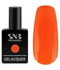 SNB Gelacquer  Lac semi-permanent 105 Portocaliu Neon