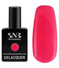 SNB Gelacquer  Lac semi-permanent 107 Roz Neon