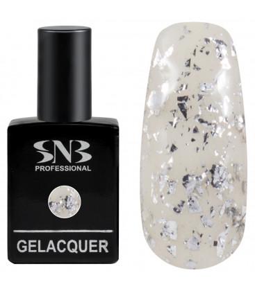 SNB Gelacquer  Lac semi-permanent F12 Silver foil