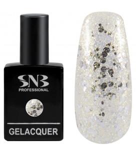 SNB Gelacquer  Lac semi-permanent F14 Small silver foil